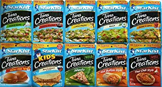 Starkist Tuna - Variety Pack of 10 Flavors