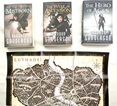 The Mistborn Trilogy With Map - Three Books & Map - Mistborn, The Well of Ascension, and The Hero of Ages