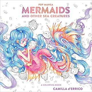Pop Manga Mermaids and Other Sea Creatures: A Coloring Book
