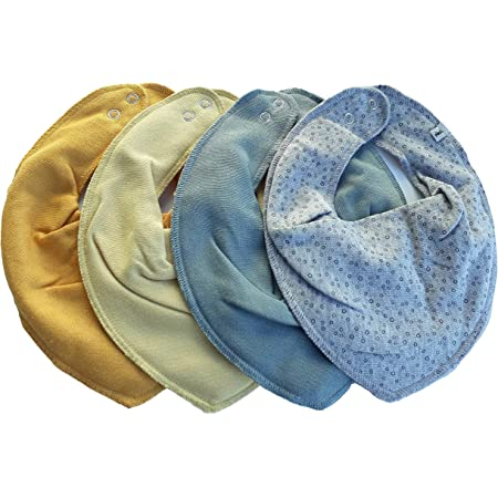 Pippi Set of 3 baby neckerchiefs triangular scarves