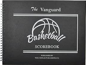 Conrad Publishing: The Vanguard Basketball Scorebook with HARDCOVER 30 Games