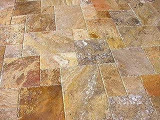 versailles pattern stone flooring