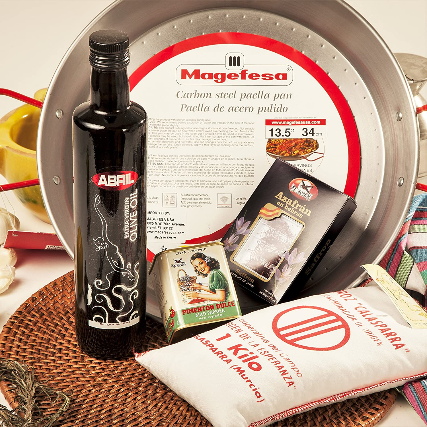 Carmen Lola Bombing new work Standard Paella Kit Free shipping anywhere in the nation