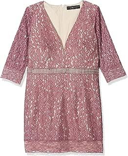 Womens/Ladies Lace Bodycon Mini Dress