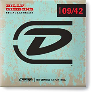 Dunlop RWN0942 Reverend Willy Nickel Plated Steel Electric Guitar Strings, Light, .009-