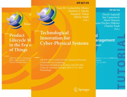 IFIP Advances in Information and Communication Technology (51-100) (50 Book Series)
