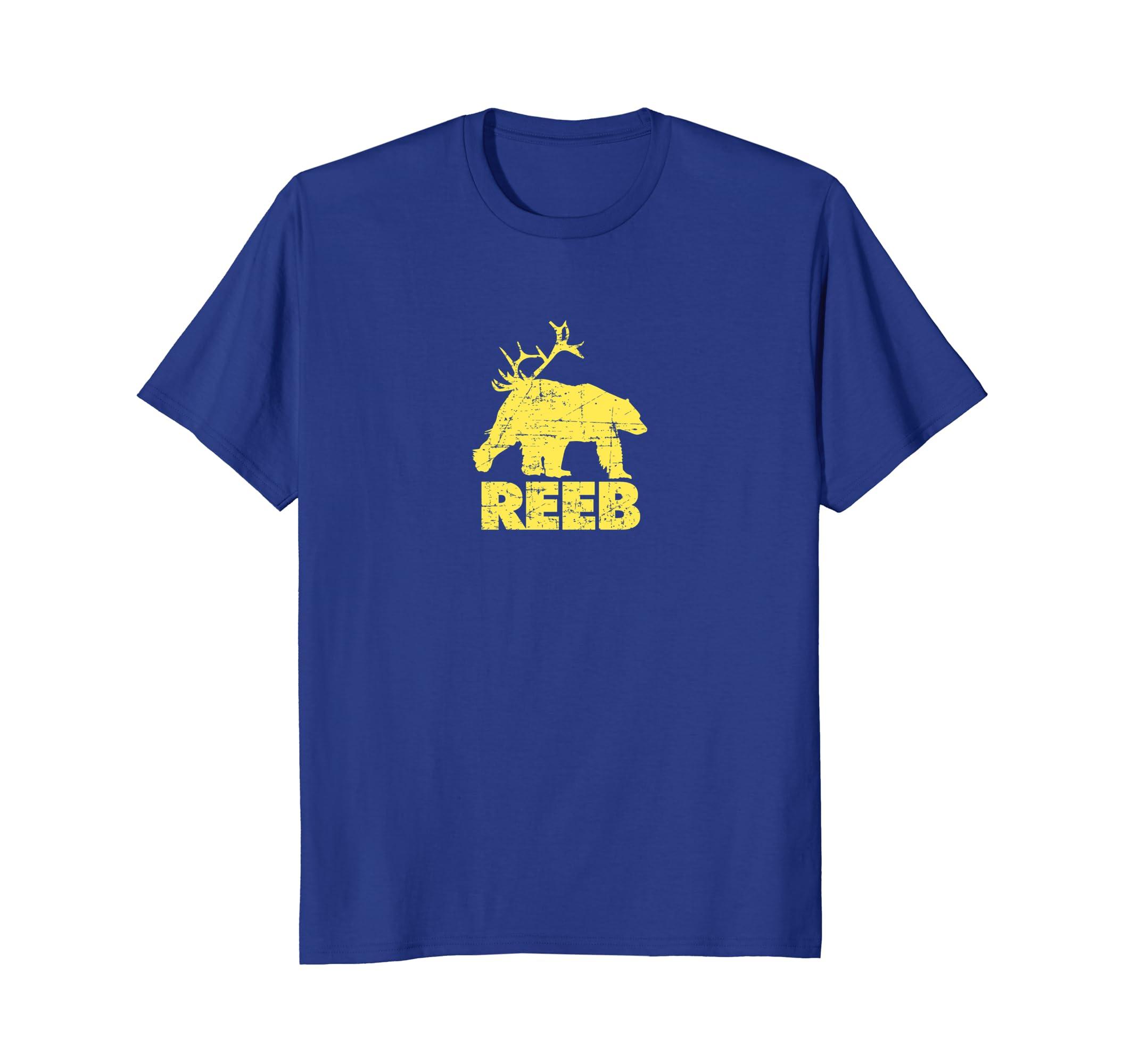 226a4c6f81533 REEB Funny Riff on Bear Deer BEER T-shirt