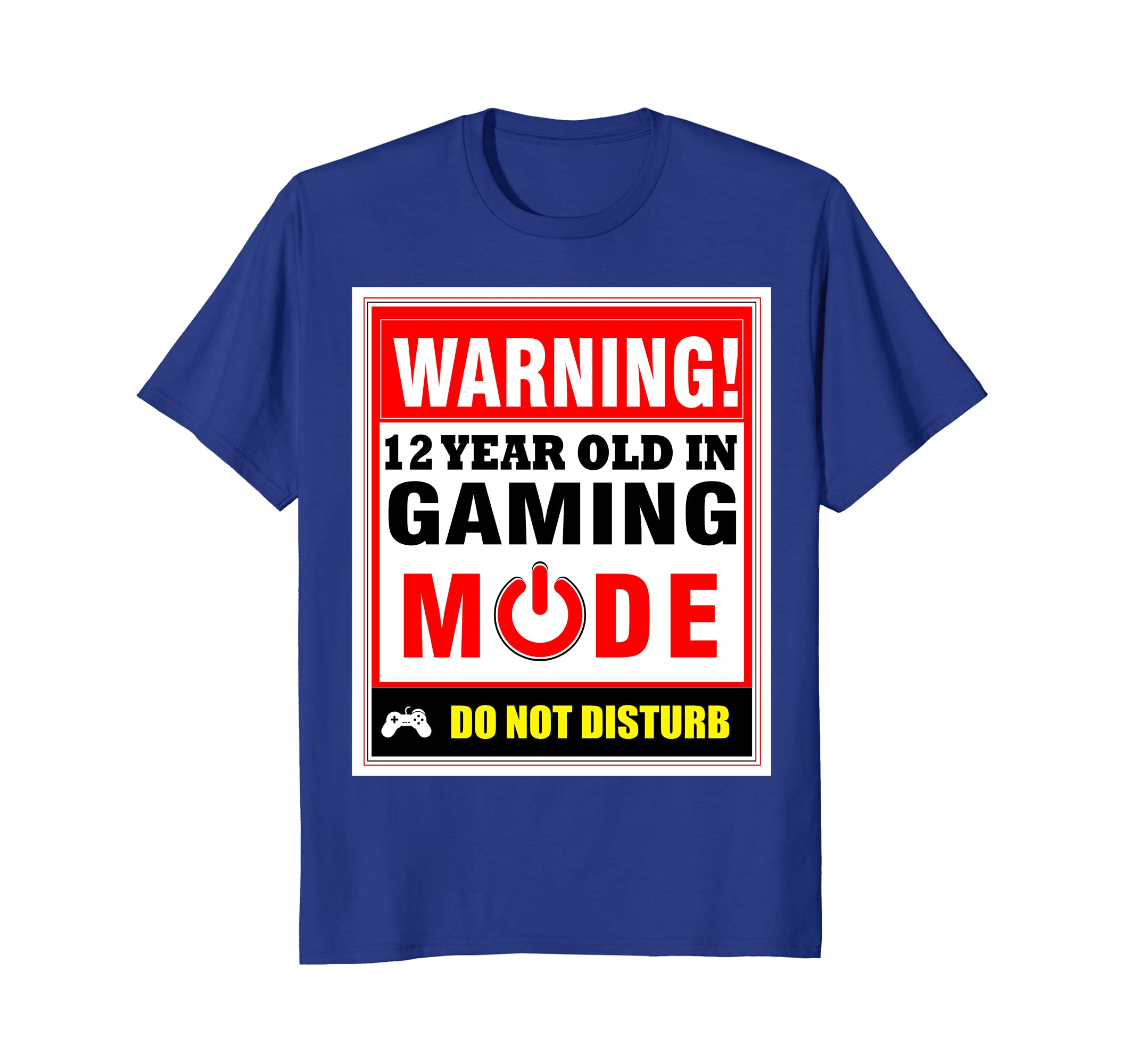 Amazon 12th Birthday Gamer T Shirt Boys Girls PC Gaming Tee Clothing