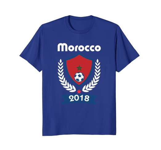 dc65059a7eb Image Unavailable. Image not available for. Color  Morocco Soccer shirt ...