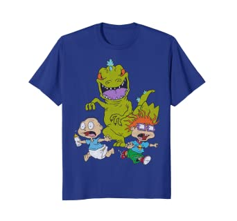 60ff490bc29 Image Unavailable. Image not available for. Color  Nickelodeon Rugrats  Reptar Bar Candy T-Shirt