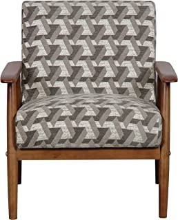 Pulaski  Home Comfort Mid Century Modern Wood Frame Accent Chair, 25