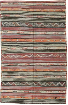 Beautiful Hand-Woven Serape Area Rugs Featuring Feather Hawkeye Pattern Three Sizes to Choose From. HA40FEATHER2