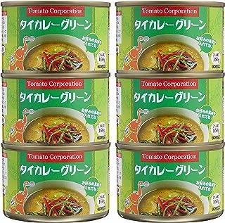 トマトコーポレーションタイカレー(グリーン)160g ×6個