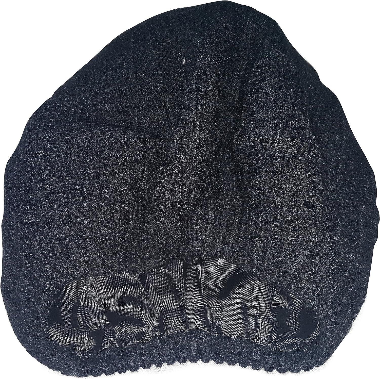 Always Eleven Satin Lined Knit Beret Hat