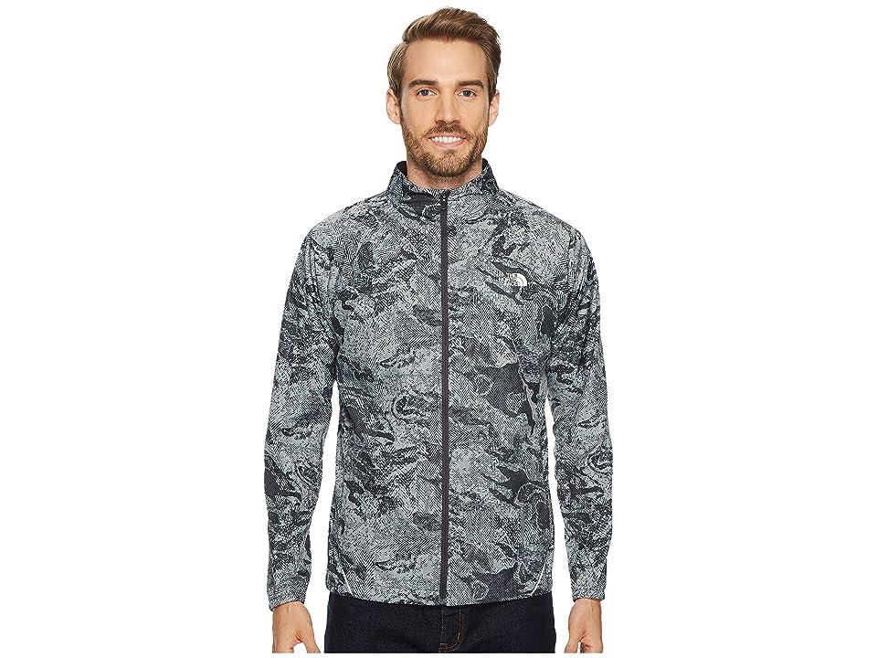 The North Face Rapido Jacket (Asphalt Grey Reflective Print) Men