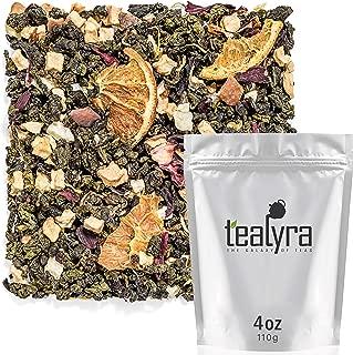 Tealyra - Blood Orange Oolong - Hibiscus - Chrysanthemum - Loose Leaf Tea - Medium Caffeine - 112g (4-ounce)