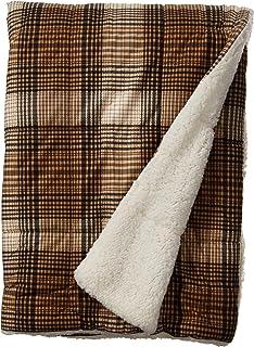 eb011620dd Woolrich Lumberjack Luxury Softspun D A Filled Throw Brown 50x70 Plaid  Premium Soft Cozy Cozy