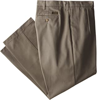 Lee Men's Big-Tall Stain-Resistant Relaxed Pleated Pant