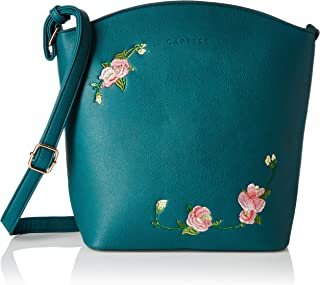 Caprese Elsy Women's Sling Bag (Teal)
