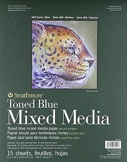 400 Series Toned Blue Mixed Media Pad, 11