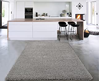 Sweet Home Stores Cozy Shag Collection Solid Contemporary Living & Bedroom Soft Shaggy Area Rug, 84