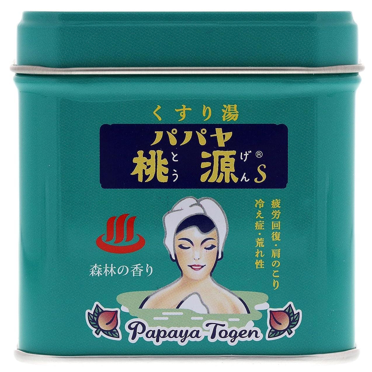 不快縫う鉄道パパヤ桃源S 70g缶 森林の香り [医薬部外品]