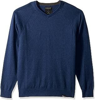 Golf Men's Fairway Long Sleeve V Neck Cottom Cashmere Sweater Vest