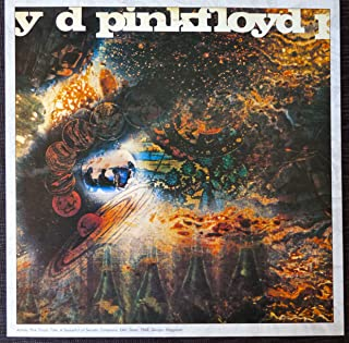Pink Floyd - Saucerful of Secrets - Vintage Album Cover Poster