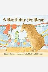 A Birthday for Bear (Bear and Mouse) Kindle Edition