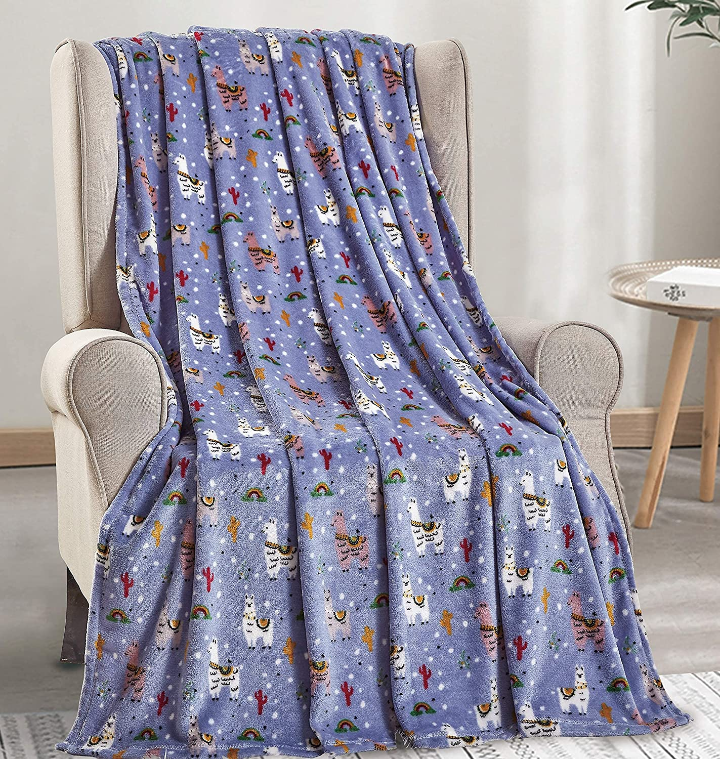 DécorMore Whimsy 2021new shipping free shipping Max 65% OFF Collection Microplush x Blanket Throw 50