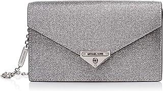 Michael Kors Medium Envelope Clutch - Silver