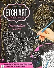 Kaleidoscope Etch Art Creations: Butterflies and More