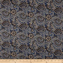 Ralph Lauren Home Lara Toile Chambray Twill Denim, Fabric by the Yard