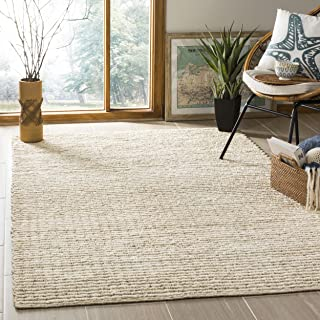 Safavieh Natural Fiber Collection NF750A Ivory Area Rug, 5' x 8'