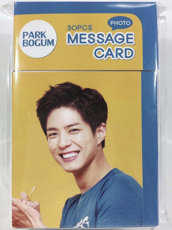 怪しいサイクロプス精神医学パク?ボゴム Park Bo Gum グッズ / フォト メッセージカード 30枚セット - Photo Message Card 30pcs [TradePlace K-POP 韓国製]