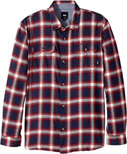 Vans Kids - Beechwood Long Sleeve Flannel (Big Kids)