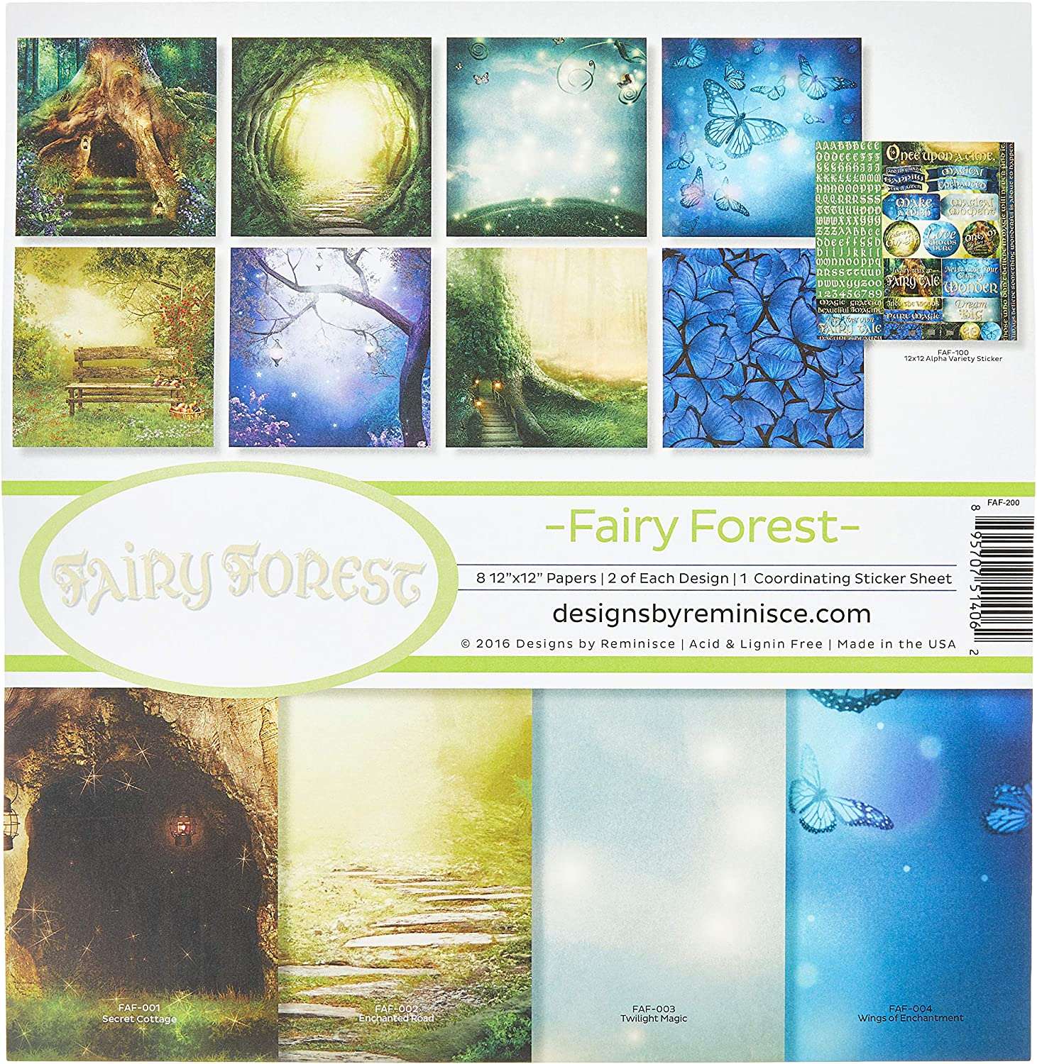 Reminisce Fairy Forest Max 79% OFF Collection 12