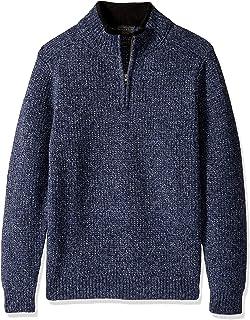 Pendleton 男式Shetland 半拉链毛衣