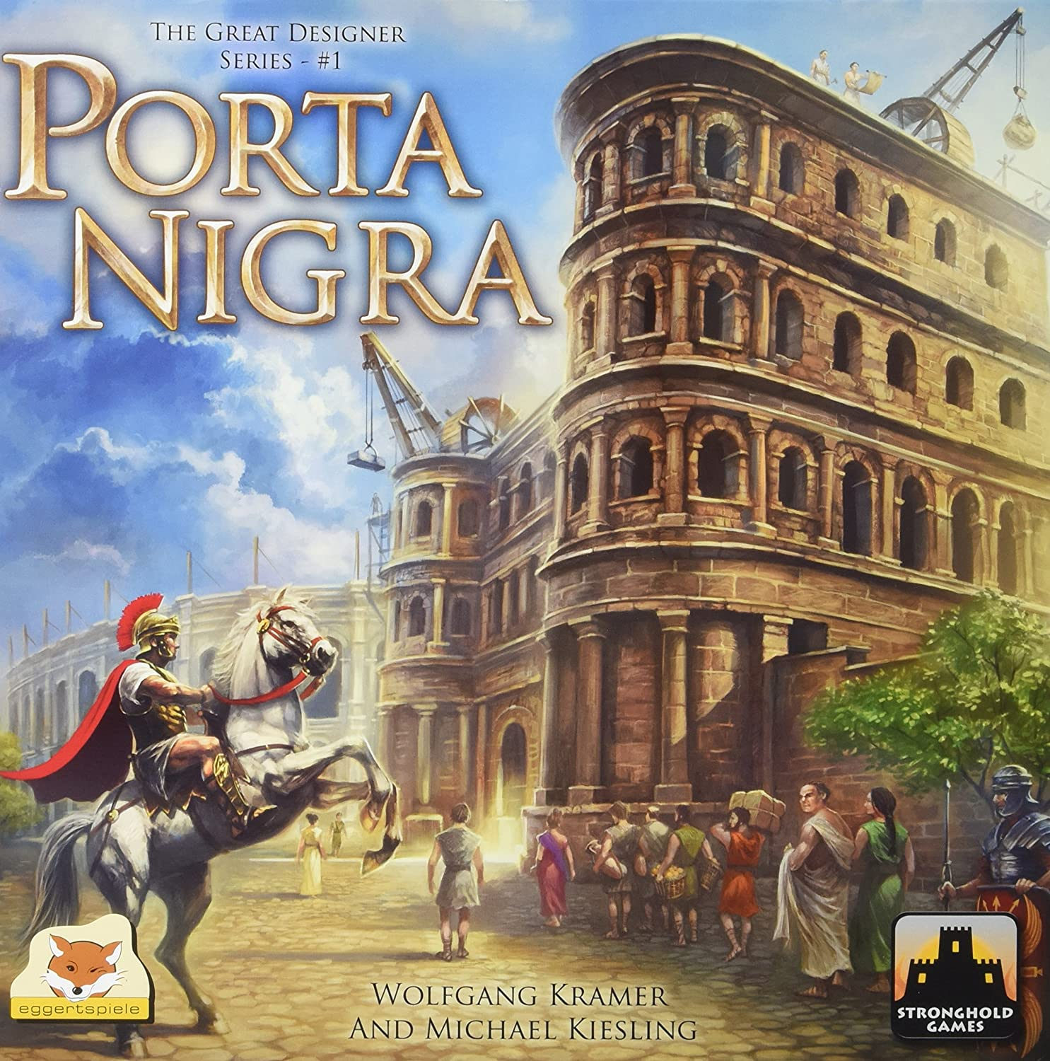 Stronghold Games - Porta Nigra - Board Game English Edition