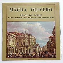 Magda Olivero: Brani Da Opere (Turandot, La Boheme, Tosca, Adriana, LeCouvreur, Mefistofele, Luisa)