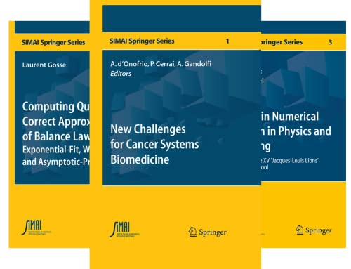 SEMA SIMAI Springer Series (21 Book Series)