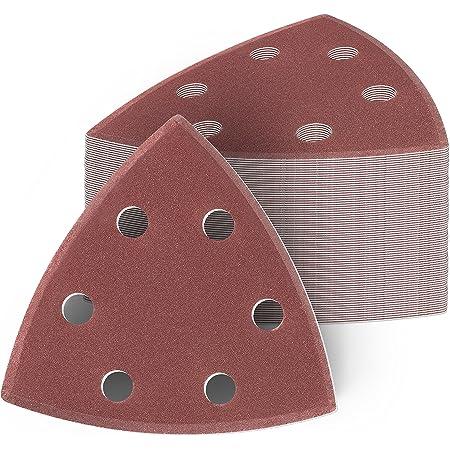 Woltersberger® Delta-Schleifpapier 93x93x93 mm Deltaschleifer Schleifdreicke