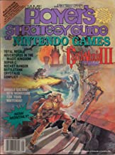 Game Players NINTENDO STRATEGY Guide OCT 1990 VOL 3 NO 5 CASTLEVANIA III Dracula's Curse, TOTAL RECALL, and Much More