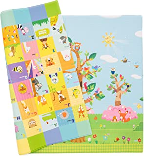 Baby Care Play Mat - Birds on the Trees (Large)