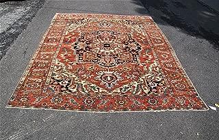 Antique Persian Heriz-Serapi Rug r8189