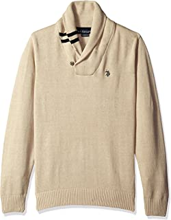 U.S. Polo Assn. Men's Solid Shawl Pullover