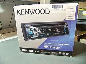 Kenwood Kdc-bt755hd Single-din In-dash Cd Siriusxm(tm)-ready Receiver With Bluet