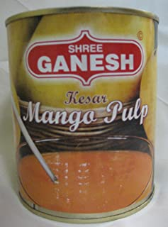 Shree Ganesh Kesar Mango Pulp 850 Gm (Pack of 4)