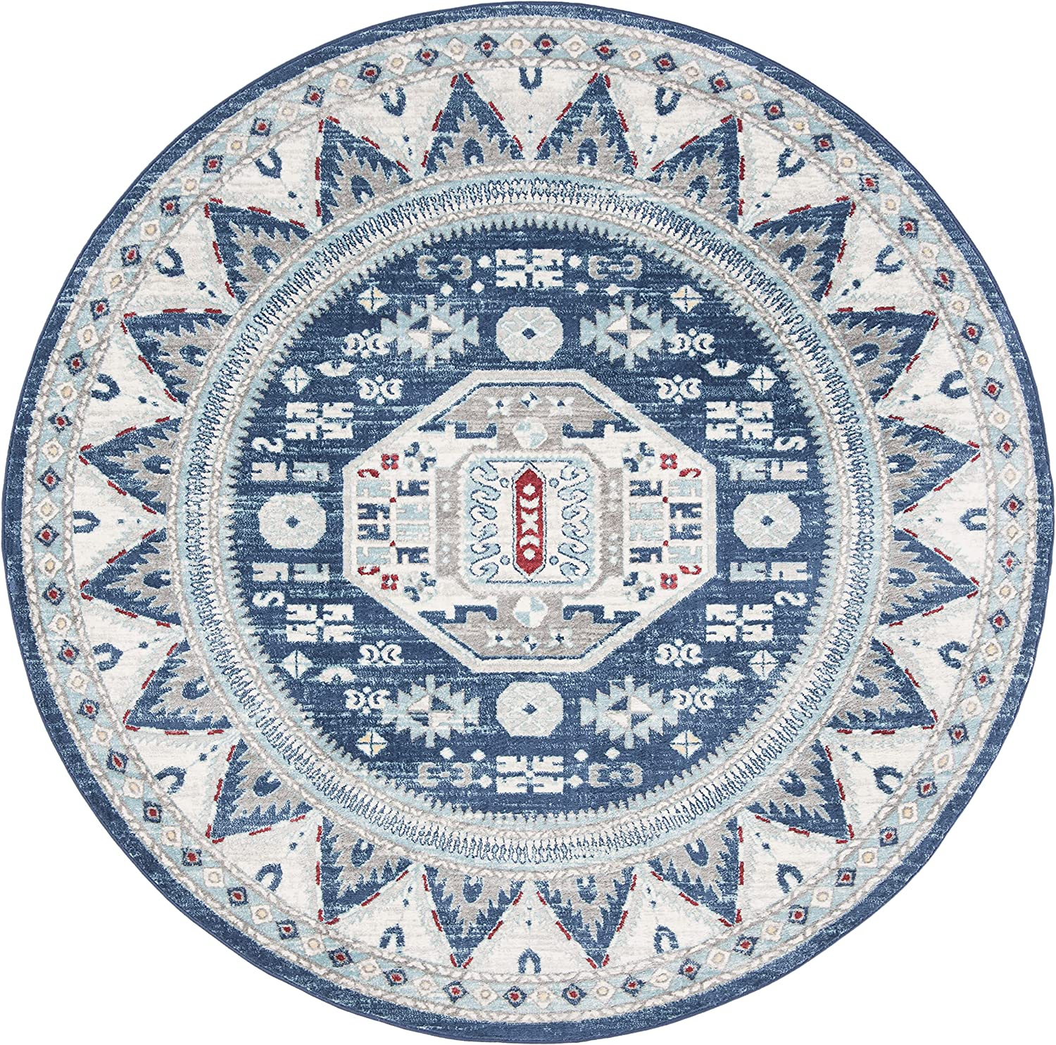 New arrival Safavieh Kazak Collection KZK118D Traditional Beauty products Stain Non-Shedding