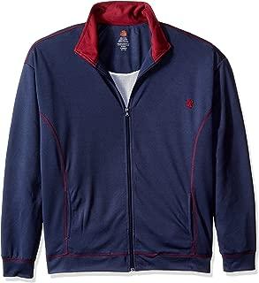 Men's Big and Tall Track Set Full Zip Jacket